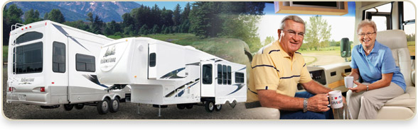 Fleetwood RV's, Gulfstream Coach, Evergreen RV's, Enduramax and Coachmen RV's